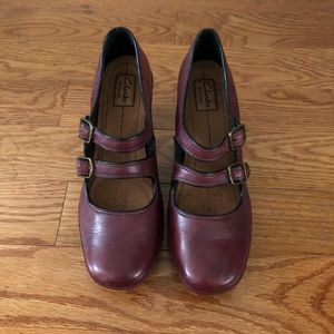 CLARKS ARTISAN | Double Strap Mary Janes